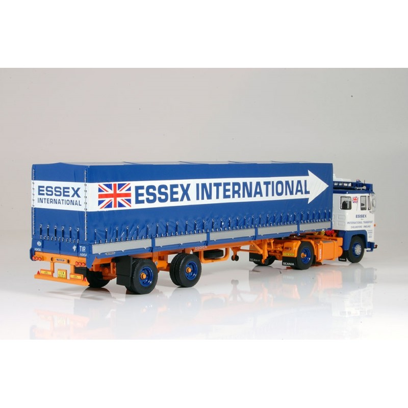 Essex International Scania 141 With Classic Hood Trailer