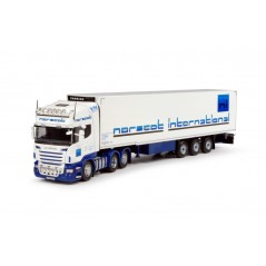 Norscot Scania R-Series Topline R6 6 x 2 with Fridge Trailer