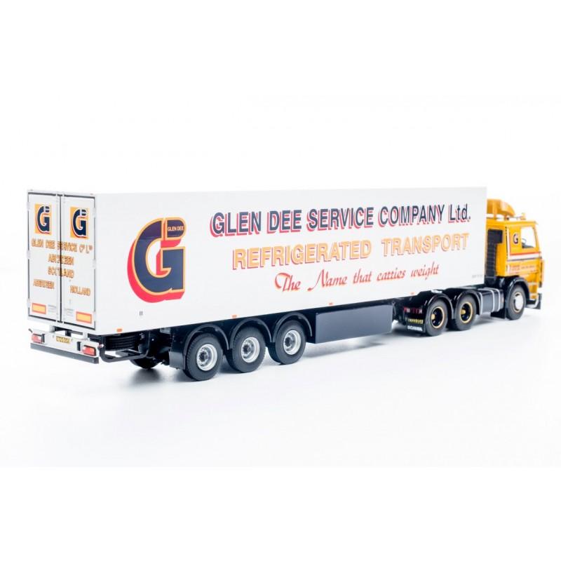 Glen Dee Scania 113 (3-Series) 6 x 2 with Thermo-King 3-axle Fridge Trailer **B-CHOICE**