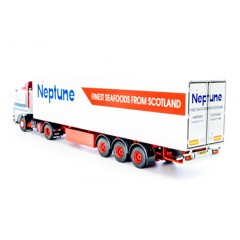 Neptune Seafoods Scania 142 with Fridge Trailer