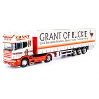 Grant of Buckie Scania 4-Series Topline with Curtainside Trailer