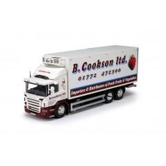 B Cookson Scania P-Series Rigid Fridge Truck