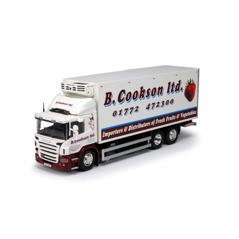 B Cookson Scania P-Series Rigid Fridge Truck