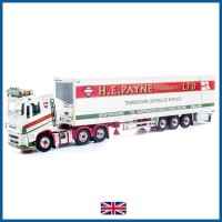 HE Payne Volvo FH04 Globetrotter XL Low Roof 6 x 2 with 3-axle Fridge Trailer **B-CHOICE**