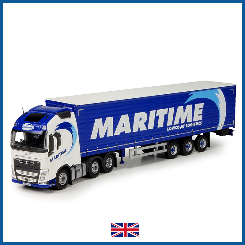 Maritime Volvo FH04 Globetrotter XL With Container Load