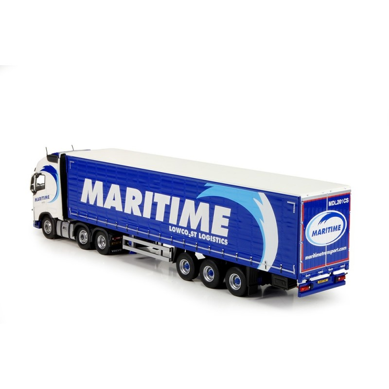 Maritime Volvo FH04 Globetrotter XL With Curtainside Trailer
