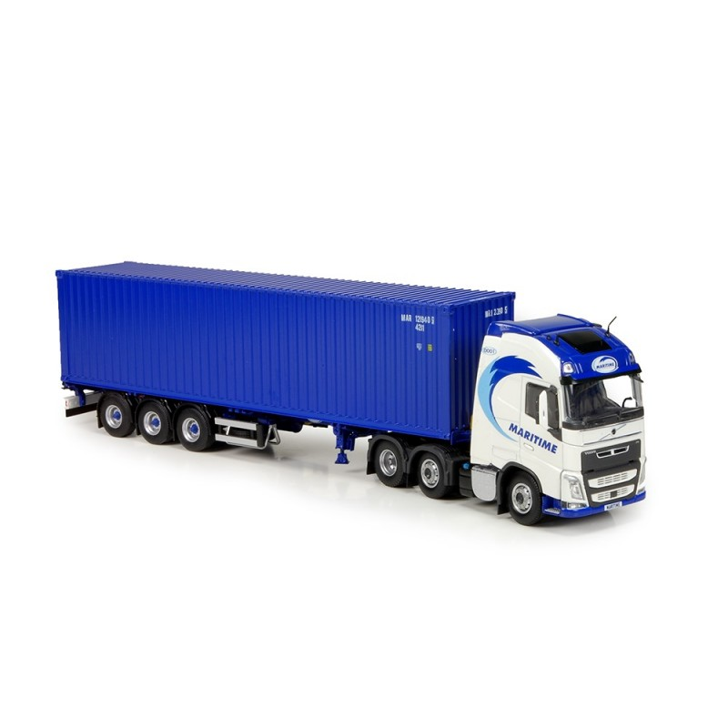 Maritime Volvo FH04 Globetrotter XL Container Semitrailer