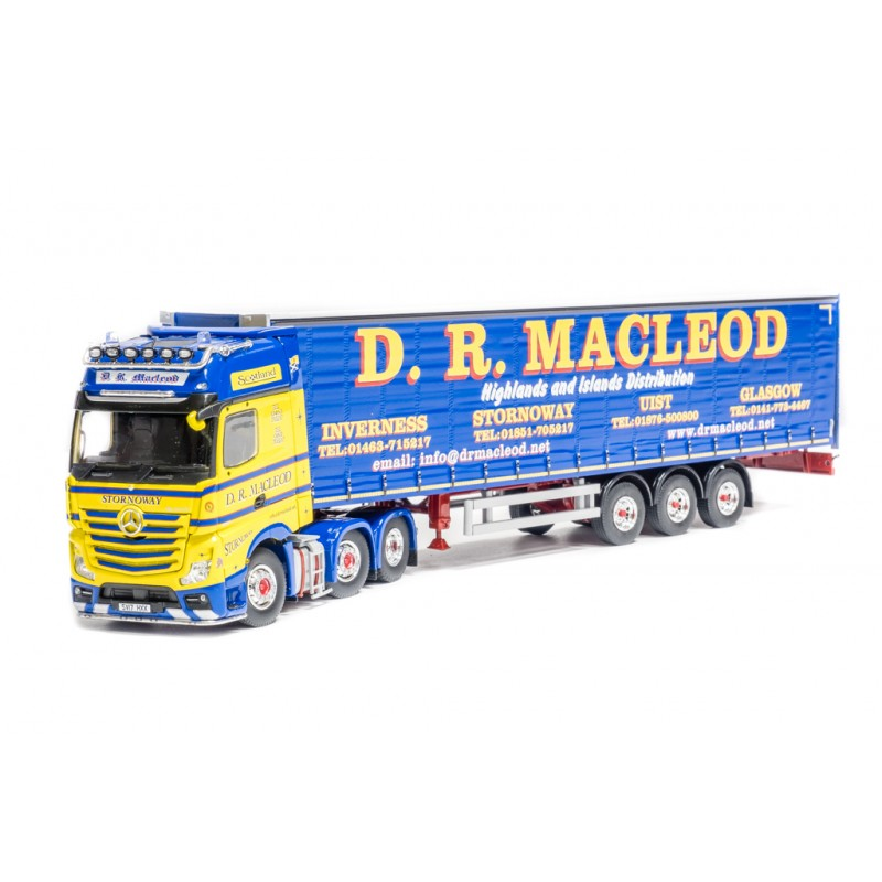 DR Macleod of Stornoway Mercedes Actros Gigaspace MP4 6 x 2