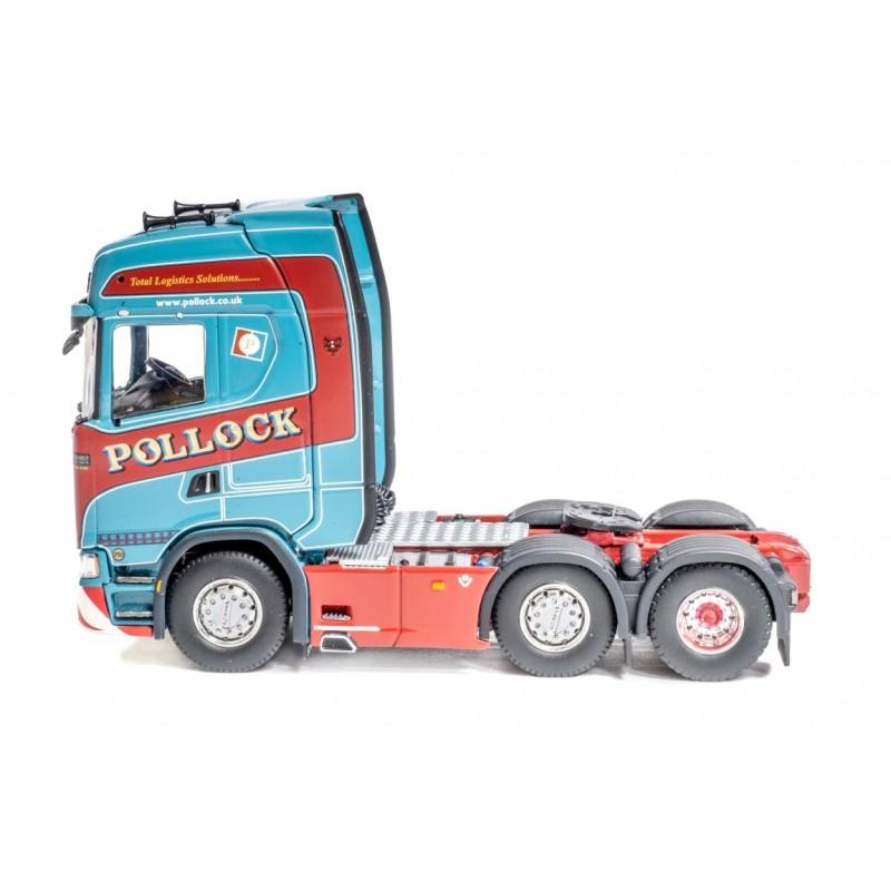 Pollock New Generation Scania S-Series 6 x 2 Tractor-Unit