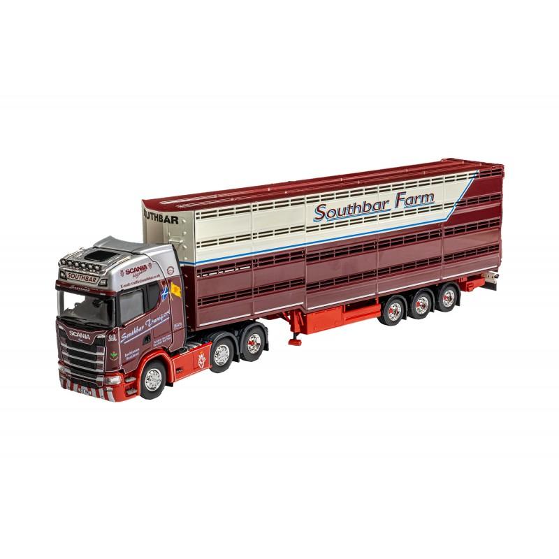 Southbar Transport Scania S500 Highline 6 x 2 Livestock Trailer
