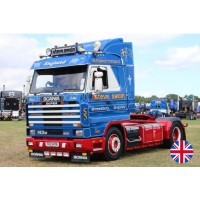 Steve Swain Scania 3-Series Streamline With 2-Axle Covered Trailer