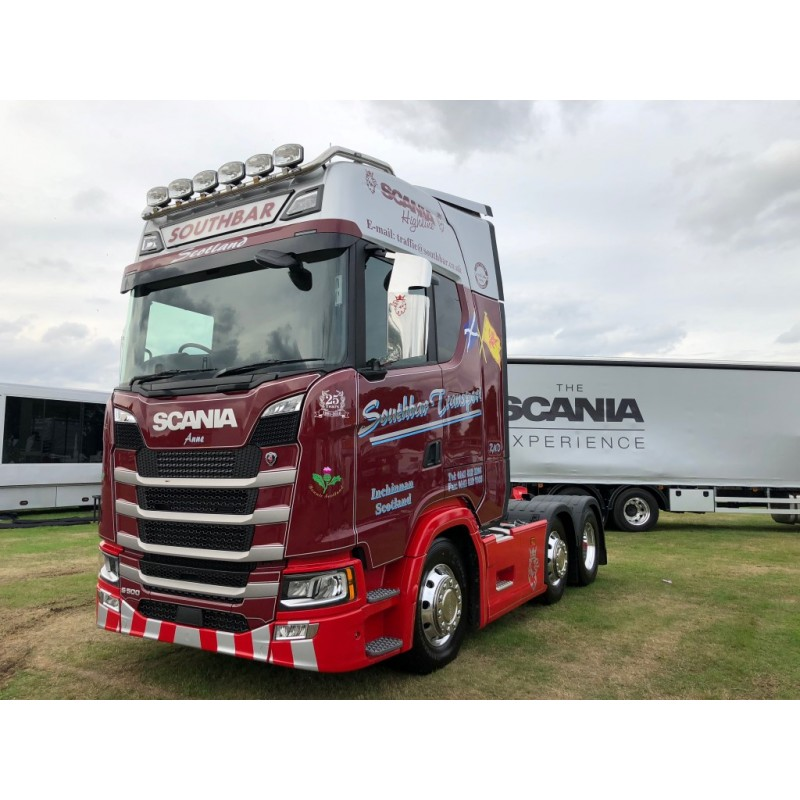 Southbar Transport Scania S500 Highline 6 x 2 Livestock Trailer
