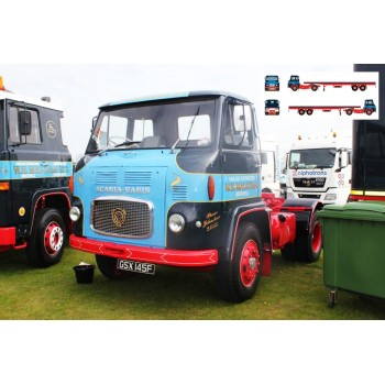 WH Malcolm Scania Vabis LB76