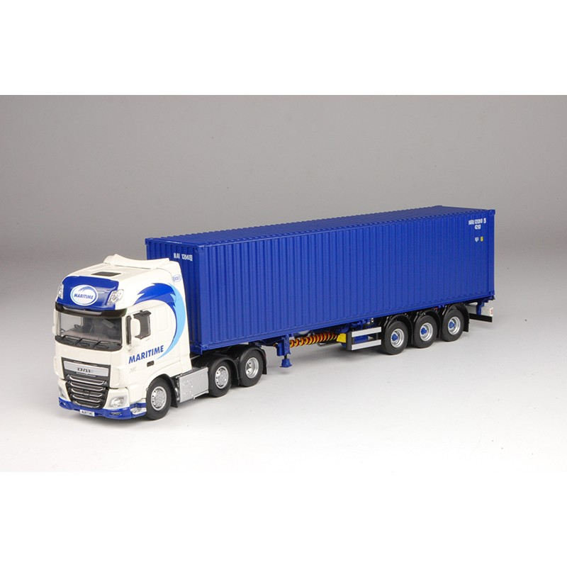 Maritime DAF XF Euro 6 SSC 6 x 2 with 40ft Skeletal Trailer