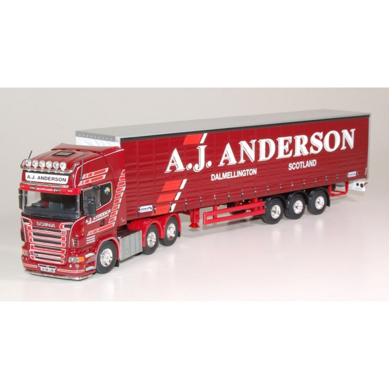 AJ Anderson Scania R-Series Topline Curtainside