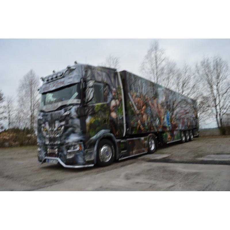 Heide Logistik Scania S-Series Highline With Reefer Trailer
