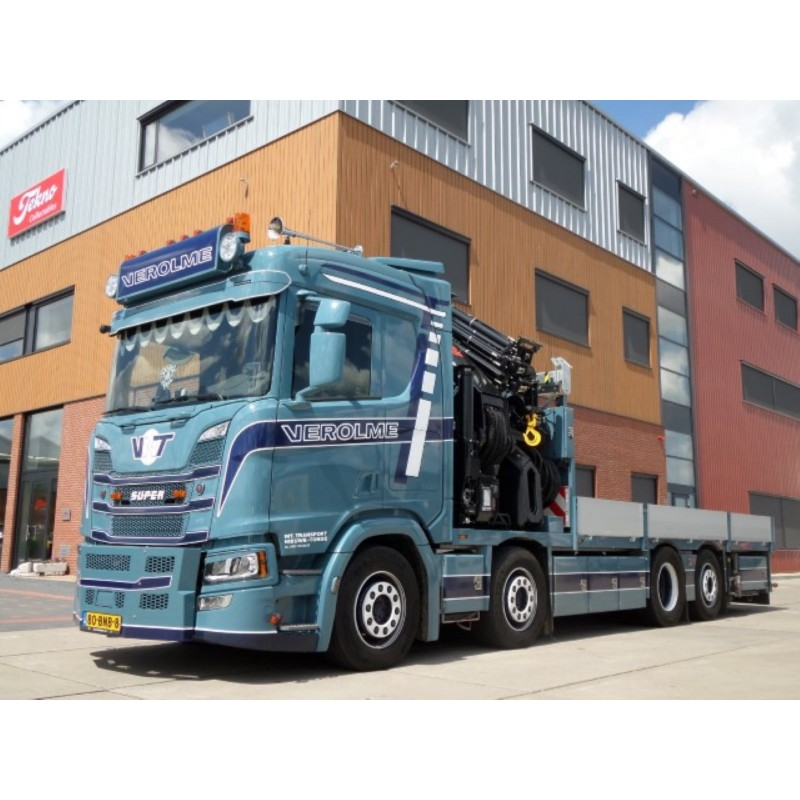Verolme Transport Scania Next Gen R-Series 8X2 With Hiab