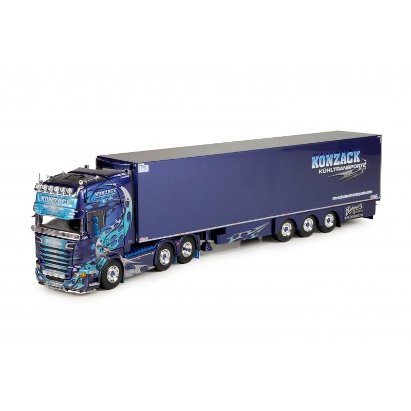 Konzack Scania R-Streamline Topline With Reefer Trailer