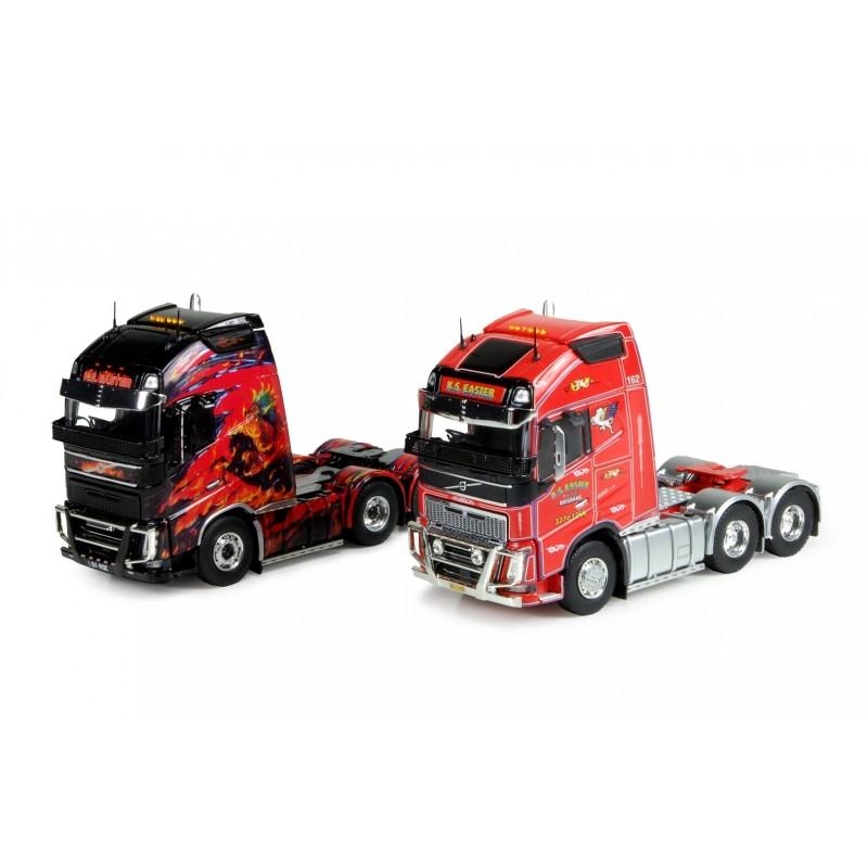 KS Transport Set Of 2 Volvo Globetrotter 6X4 Tractor Units