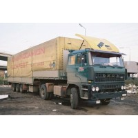 Hungarocamion Raba With 3 Axle Stepframe Trailer