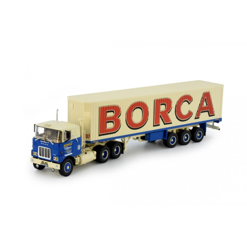 Borca Mack F700 With Classic Box Trailer