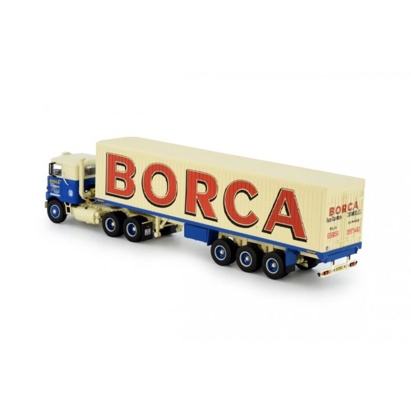 Borca Mack F700 With Classic Box Trailer