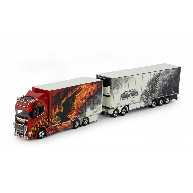 Ristimaa Firebird Scania S-Series Highline Double Reefer Trailer