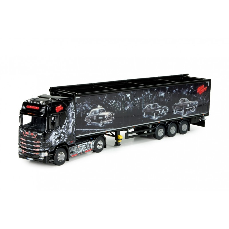 REPINSKI - Sin City Scania S-series With Walking Floor Trailer