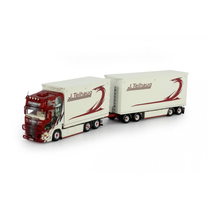 John Telhaug Scania R-Series Topline Wood Chip Combi