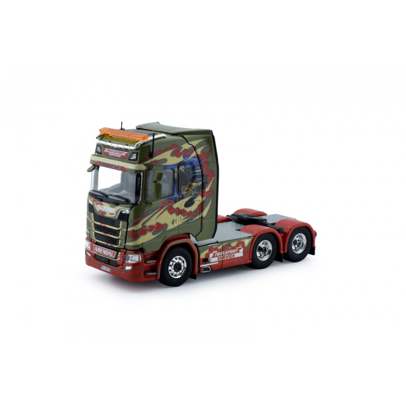 Transport-Service Scania S-Series Highline 6X2 Trekker