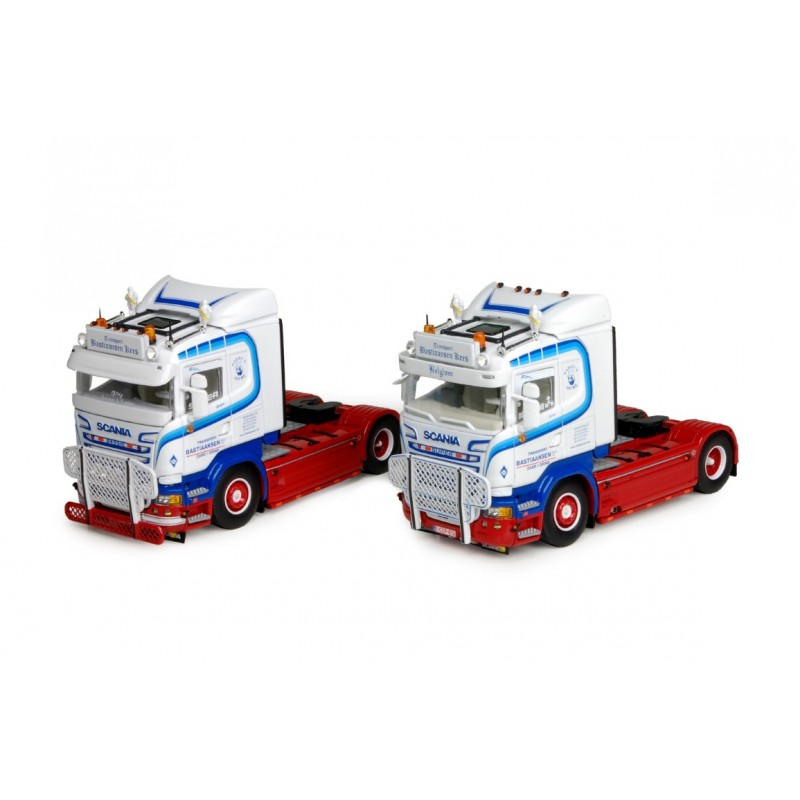 Bastiaansen Set Of 2 Scania R-Streamline 4X2 Trekkers