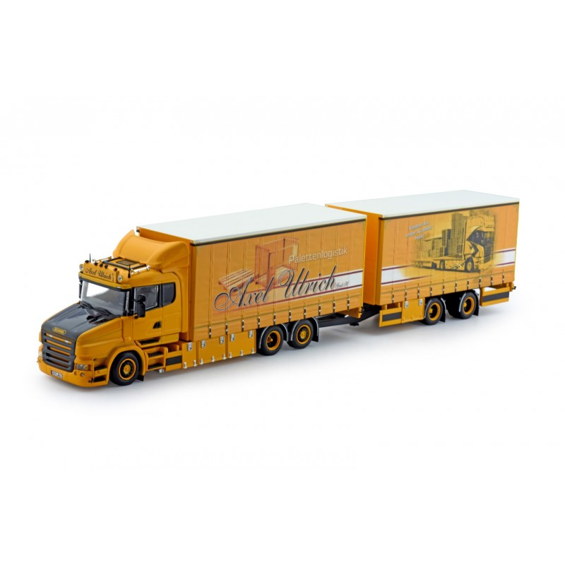 Axel Ulrich Lupal Scania Torpedo With Curtainside Trailer