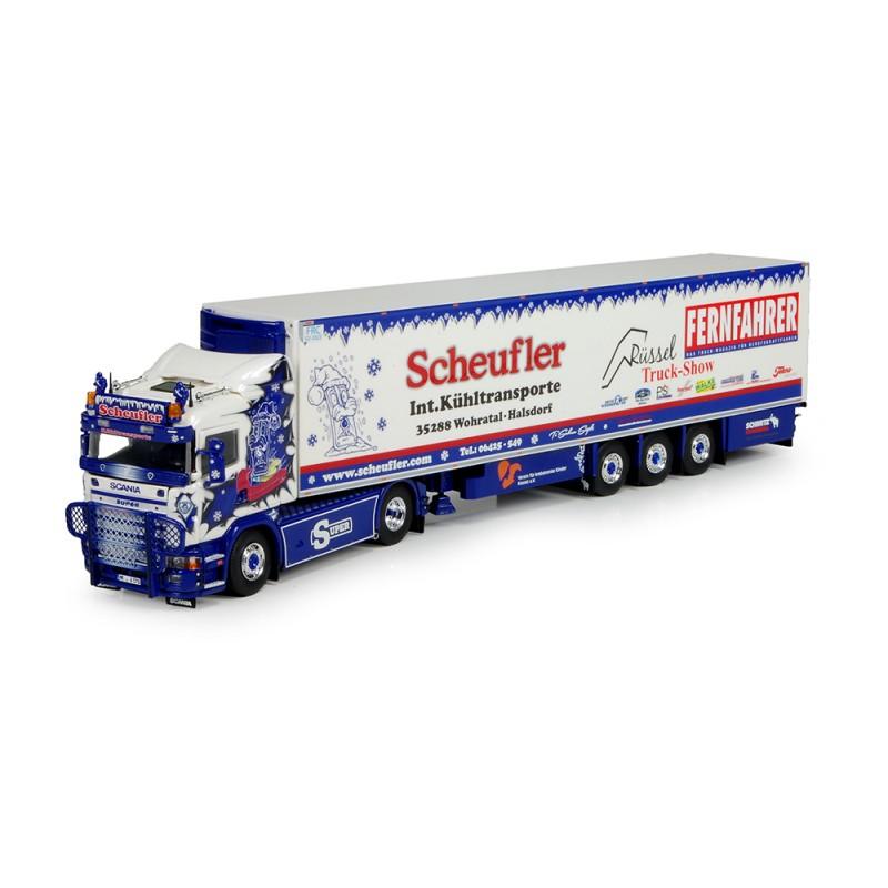 Russel Scheufler Scania 4-Series With Reefer Trailer