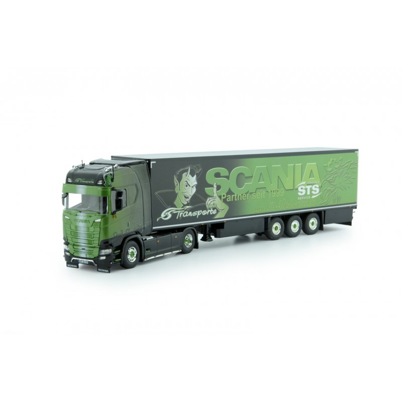 GS Transporte Scania S-Series Highline With Reefer Trailer