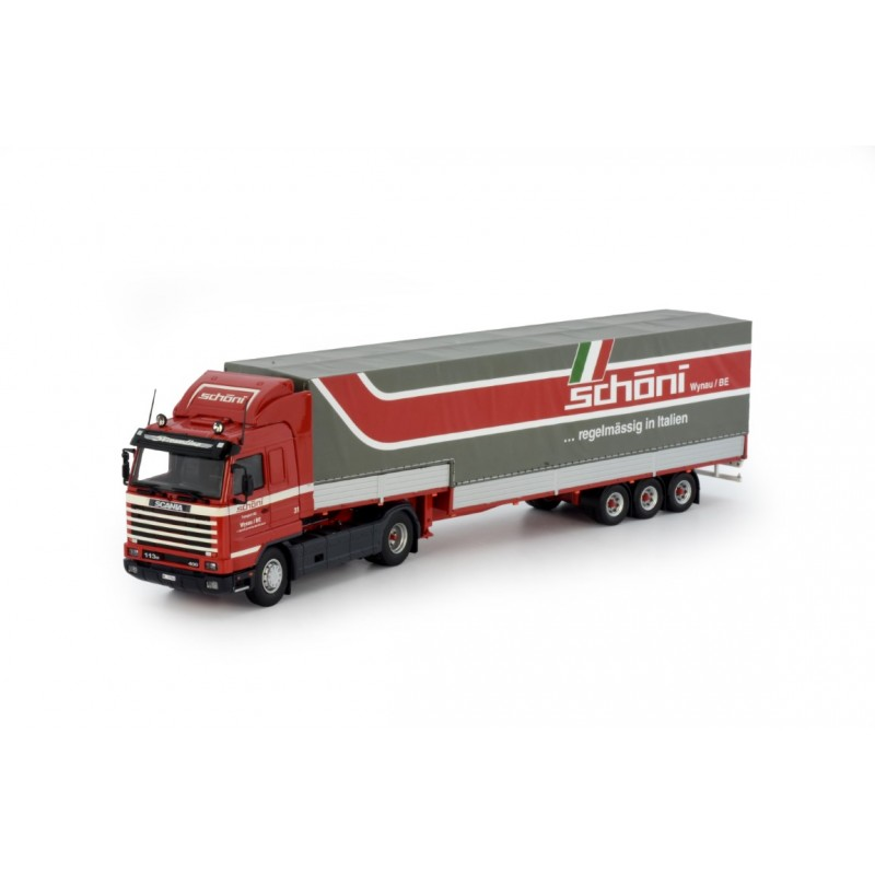 Schoni Scania 3-Series Streamline With 3 Axle Classic Step Trailer