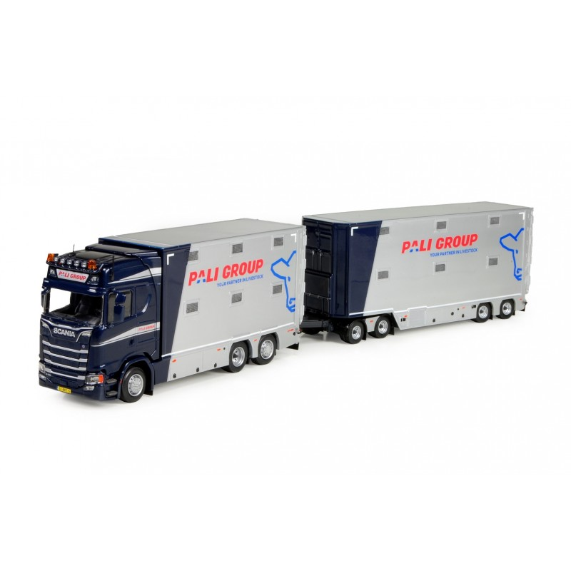 Pali Groep Scania S Series Highline Livestock Rigid With Trailer