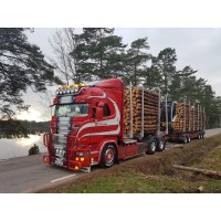 Gustafssons Scania R-Series Log Transporter