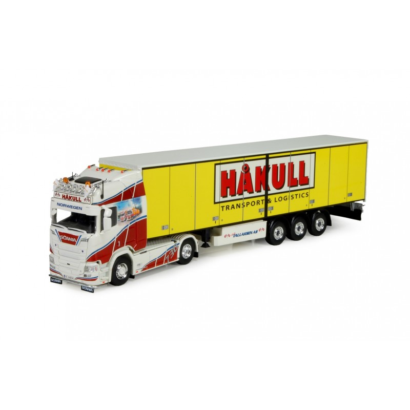 Tallaksen - Hakull Scania Ngs R-Series With Box Trailer Side Doors