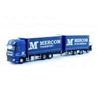 Mercom DAF XF Euro 6 SSC Truck And Trailer With Moffet Forklift