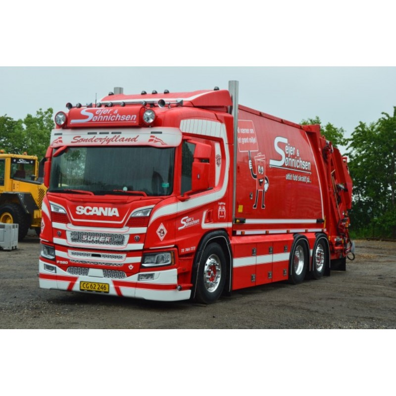 Sejer & Sonnichsen Scania Next Gen P-Series 580-V8 Garbage Truck