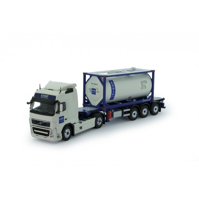 Exsif Volvo Fh03 Globetrotter With Iso Tankcontainer