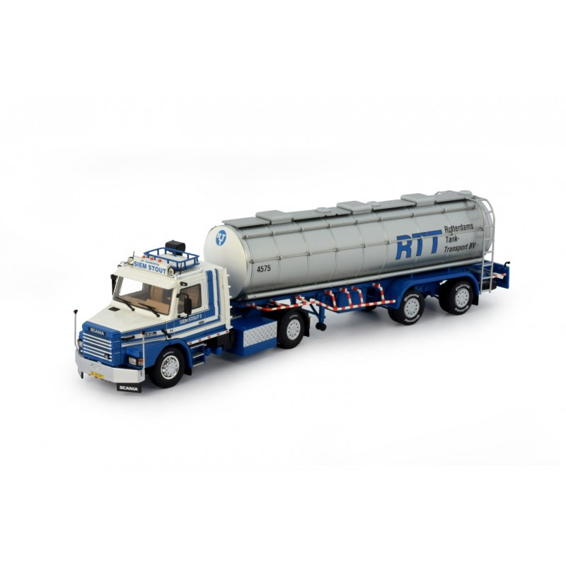 Siem Stout Scania Torpedo 142 With 2 Axle Tanker Trailer