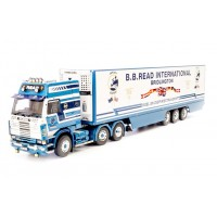BB Read Scania 112 with 3-axle Fridge Trailer