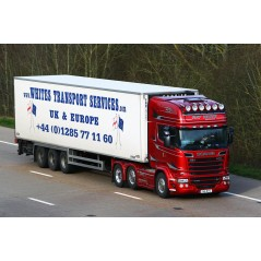 Whites Transport Red Passion Scania