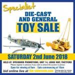 Specialist Die-Cast Auction Saturday 2nd June