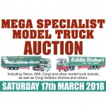 Speedbird Model Auction Saturday 17th March