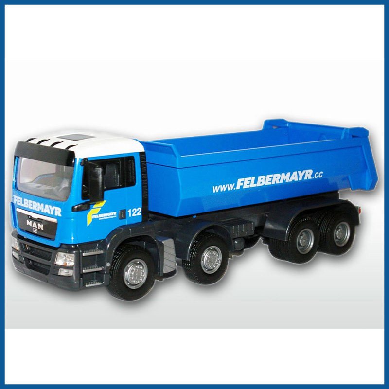 MAN TGS Blue Cab 4 Axle Felbermayr Tipper 1:25 Scale