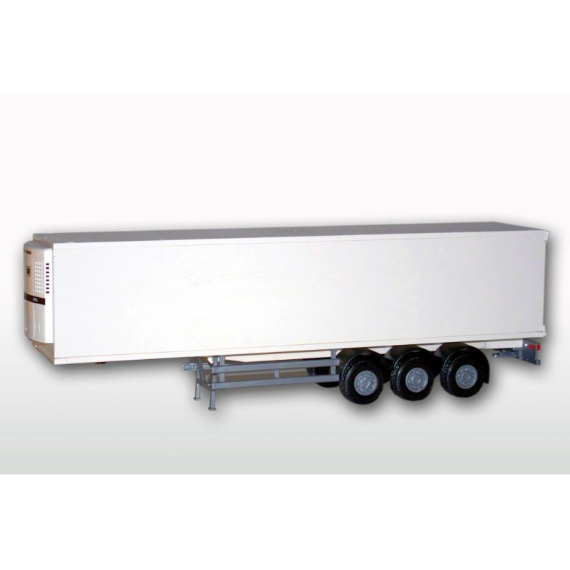 Refrigerated Semi Trailer While