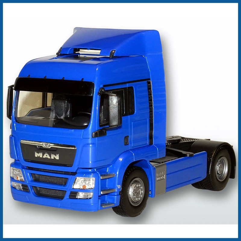 MAN TGS LX 4x2 Tractor Unit Blue Cab 1:25 Scale