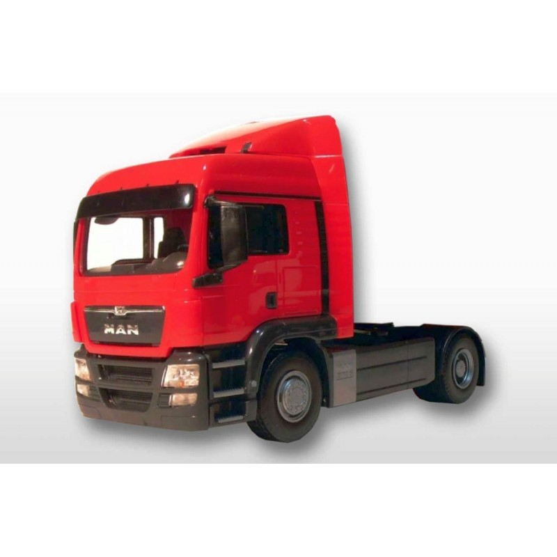 MAN TGS LX 4x2 Tractor Unit Red Cab